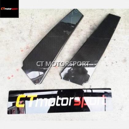 Maserati Ghibli Carbon Fiber Door Panel Cover 2pcs