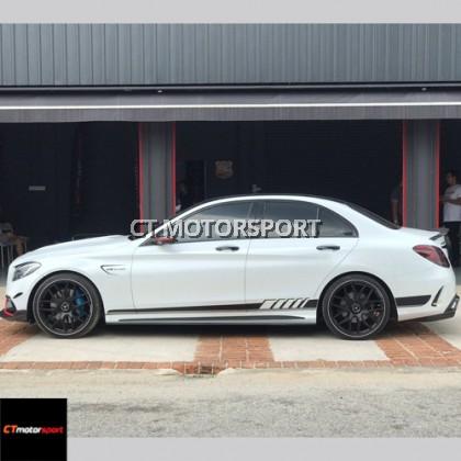 Mercedes Benz W205 Convert C63 Bodykit