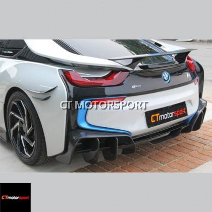 BMW i8 Installed BZK Carbon Fiber Aero Full Bodykit