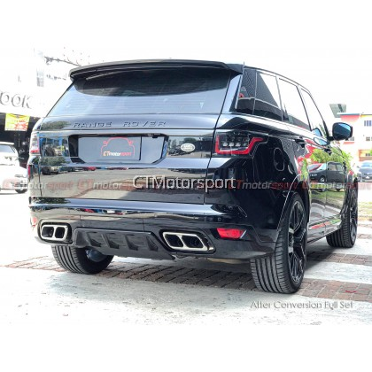 Range Rover Sport Installed Full Conversion SVR Kit