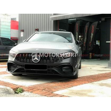 Mercedes Benz A-Class W177 Installed Full Conversion A45s Bodykit Set