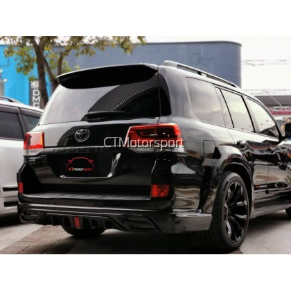 Toyota Land Cruiser FJ200 Installed WALD Wide Body Conversion Bodykit