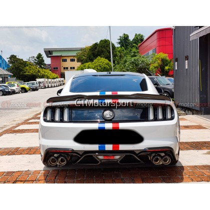 Ford Mustang 2.3 5.0 EcoBoost Installed GT500 Shelby Conversion Bodykit Set