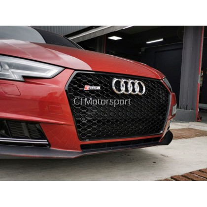 Audi A4 B9 Series Installed Front Grill RS4 Conversion