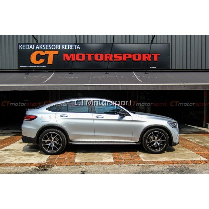 Mercedes Benz GLC SUV X253 Installed Full Conversion GLC63 Bodykit Set