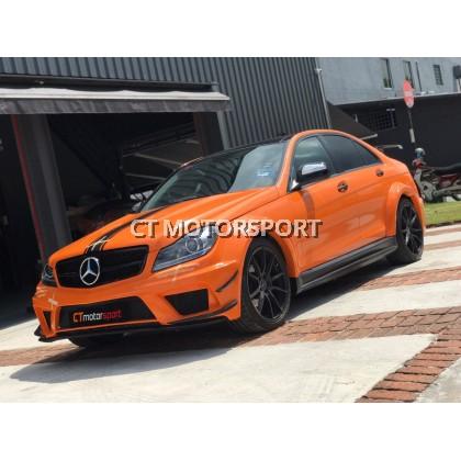 Mercedes Benz W204 Non Facelift Convert Black Wide Body Series