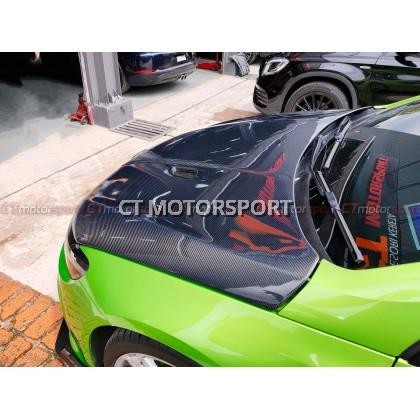 Volkswagen Scirocco Installed REVO Carbon Fibre Front Hood Bonnet