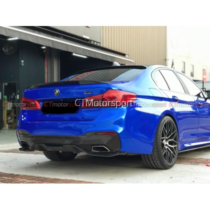 BMW G30 5 Series Installed Full Conversion M5 With Side Fender Bodykit