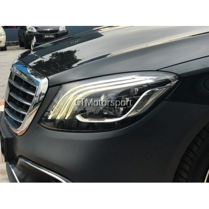 Mercedes Benz W222 Installed Full Conversion S63 Facelift Bodykit
