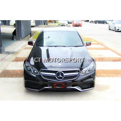 Mercedes Benz W212 Installed Full Conversion E63 Facelift Kit
