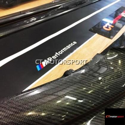 BMW F10 5 Series Installed Carbon Fibre M-Performance Set Kit