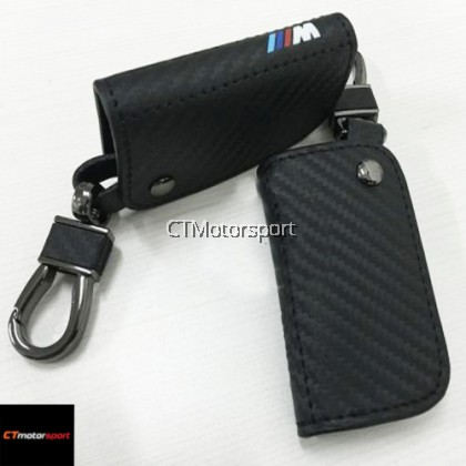 BMW E60 Carbon Look Leather Key Holder