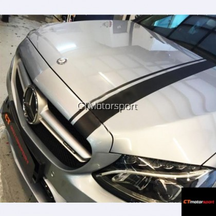 Mercedes AMG Side Bonet Sticker Bodykit