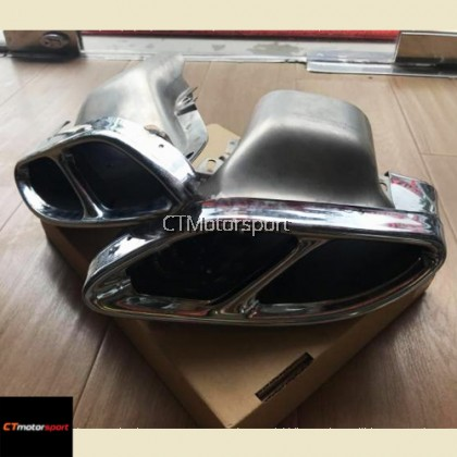 Mercedes Benz A200 A250 A45 W176 Installed AMG Exhaust Tailpipe